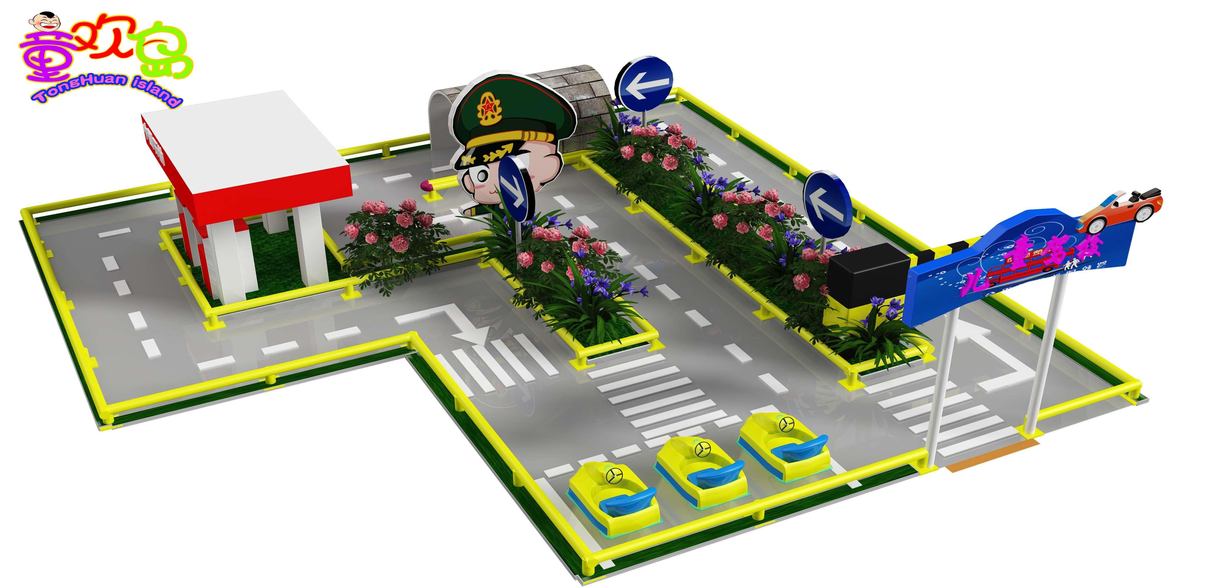驾校设计图俯视平面